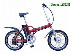 foldable ebike LB2001R