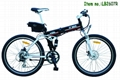 26' foldble suspension ebike, Textro