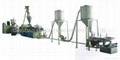 PVC hot cutting granulating pelletizing