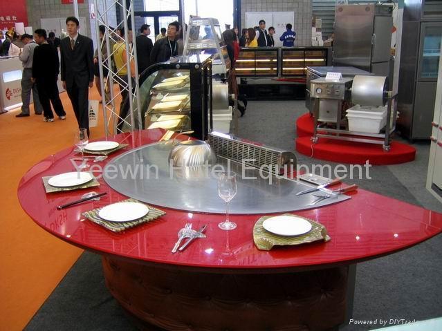 Teppanyaki Table YWSC Yeewin China Manufacturer Hotel - Teppan table