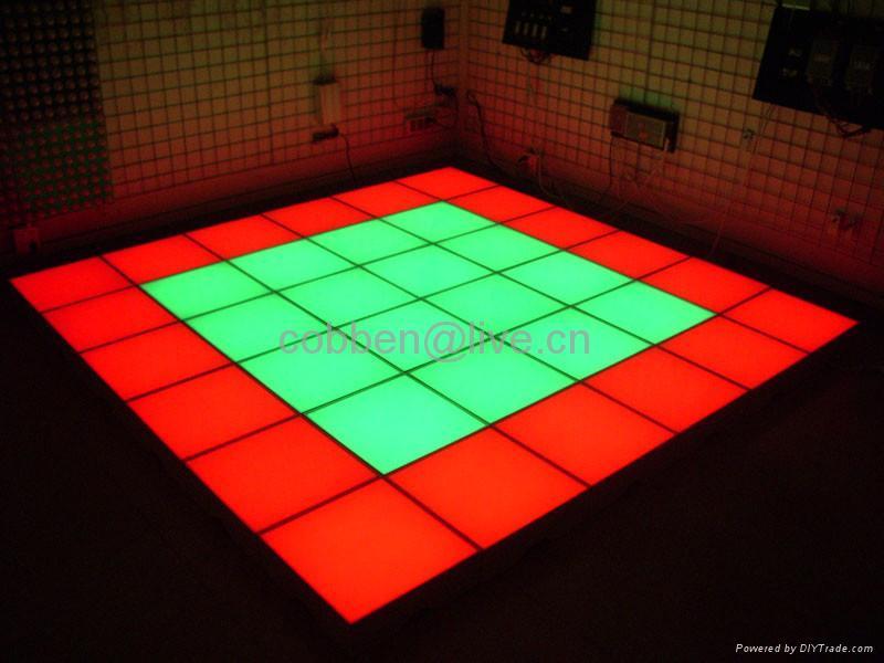 Led inductive brick light dance floor light ueele china for Diy brick floor