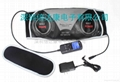 Body toning belt massager