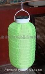 供应6寸冬瓜形太阳能灯笼