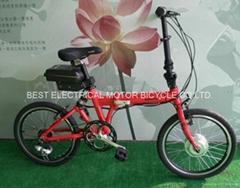 20吋折疊電動腳踏車(鋰電型)