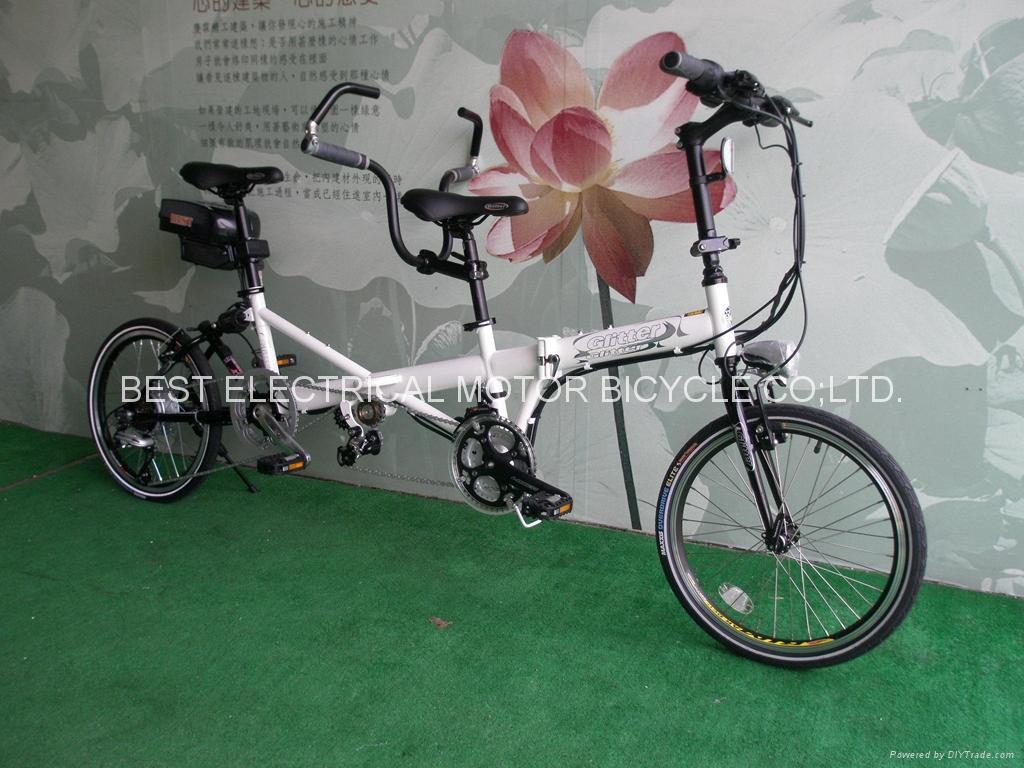 tandem e bike ebest 025 e best taiwan manufacturer. Black Bedroom Furniture Sets. Home Design Ideas