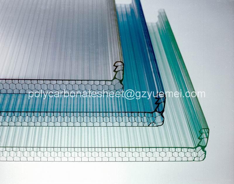 Polycarbonate Honeycomb Sheet Pc 2 Yuemei China