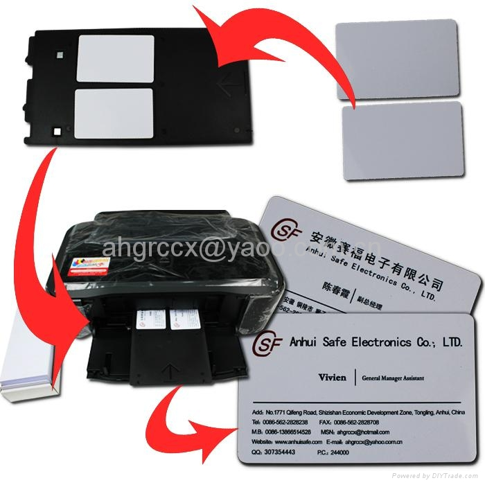 ip4820 and Others ip4920 MG8120 Inkjet PVC ID Card Tray for Canon MG6120