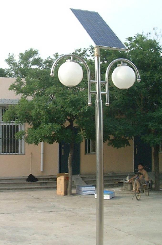 太陽能led庭院燈 太陽能庭院燈報價 太陽能庭院燈圖片 2
