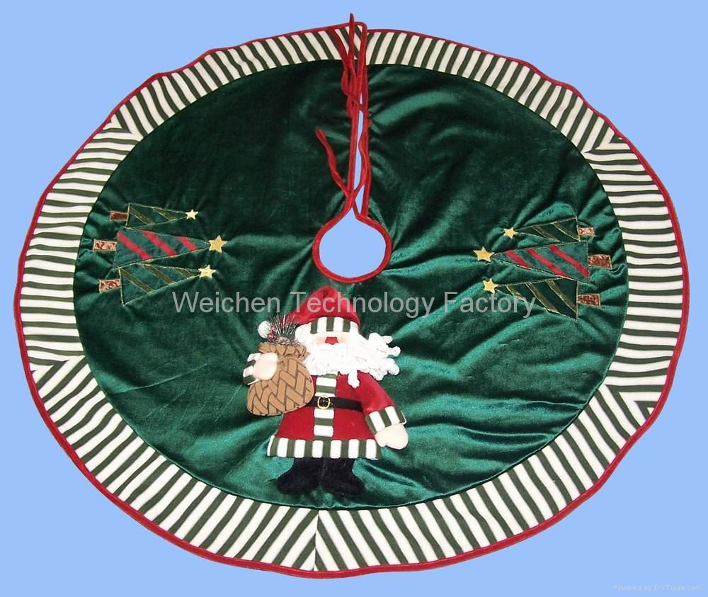 Christmas Tree Skirt Tree Mat