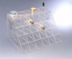 亚克力标牌、展示架,名片盒,有机玻璃工艺