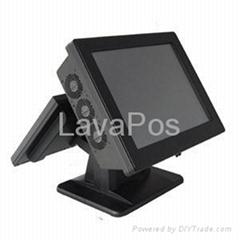雙屏觸摸屏收款點菜POS一體機