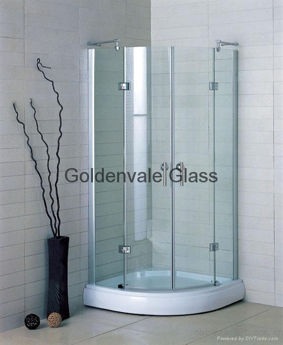 Shower Room Safety Glass Shower Cabinet Toughened Glass