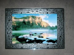 moving waterfall picture/decorative picture/flash picture