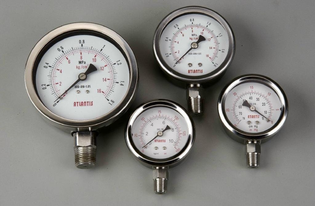 全不鏽鋼壓力表 1