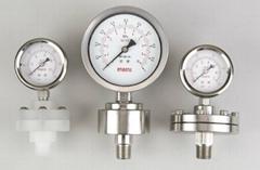 卫生级隔膜式压力计