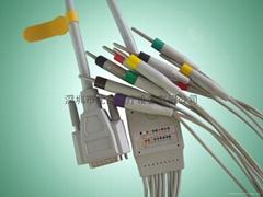 光電心電十二導聯線