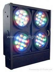 LED Blinder Light 4 bar 3W W/ Amber LED