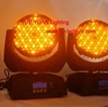 575W LED Moving head wash Lighting 108x5W RGBA