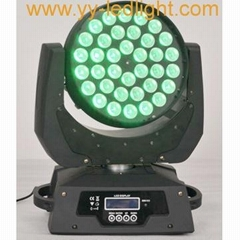 360W Quad RGBW LED Moving Head Wash with Zoom