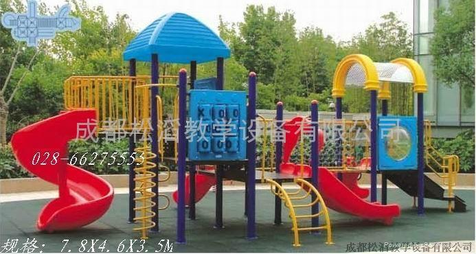 成都幼儿園大型組合滑梯價格 2