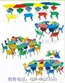 成都幼儿園課桌椅價格