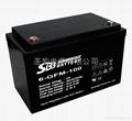 12V100Ah 中密蓄電池 2