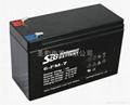 圣豹电动喷雾器铅酸蓄电池 12V7Ah
