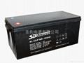 聖豹太陽能膠體儲能蓄電池12V