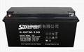 圣豹太阳能系统胶体蓄电池12V150Ah
