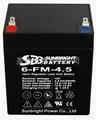 圣豹电动滑板车铅酸蓄电池12V4.5