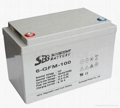 太陽能風能專用儲能聖豹電池