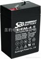 应急灯 电子称专用圣豹电池