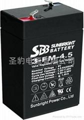應急燈 電子稱專用聖豹電池