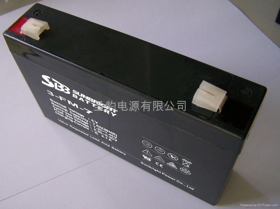 應急燈 電子稱專用聖豹電池 2