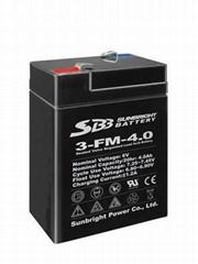 6V4Ah  6V7Ah 6V10Ah sealed lead acid battery