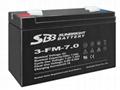6V4Ah  7Ah 10Ah 免維護蓄電池 2