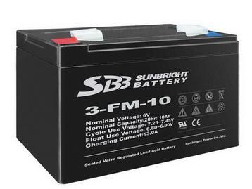 6V4Ah  7Ah 10Ah 免維護蓄電池 3