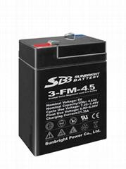 6V4.5Ah 免維護蓄電池