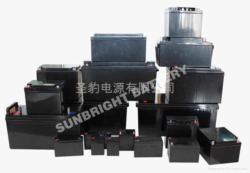 12V 中密系列電池 1