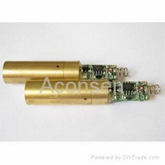 High Power genuine  Green Laser Module 130~150mW,never pot mod