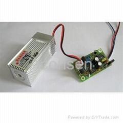Industrial TTL Green laser Module 100mW