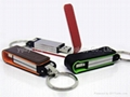 Leather USB Flash Pen Drive(P-T392)