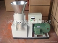 200  flat die wood pellet mill