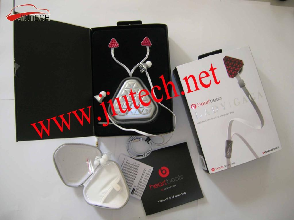 Heartbeats by Lady Gaga In-ear Headphones - monster earphon - monster