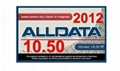 500G Alldata 10.50 Car Repair Information Software / Auto Diagnostics Software