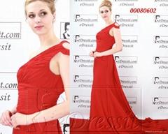 eDressit New Red Star Evening Dress Prom Gown