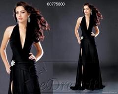 eDressit Black Sexy Prom Evening Dress