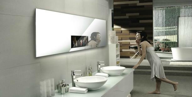 镜面广告机 1