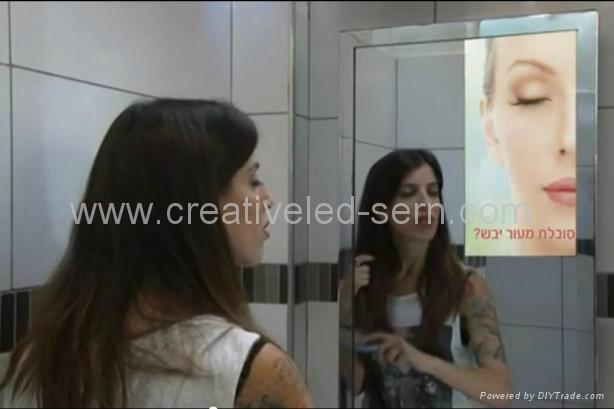 洗手间专用媒体广告机 1
