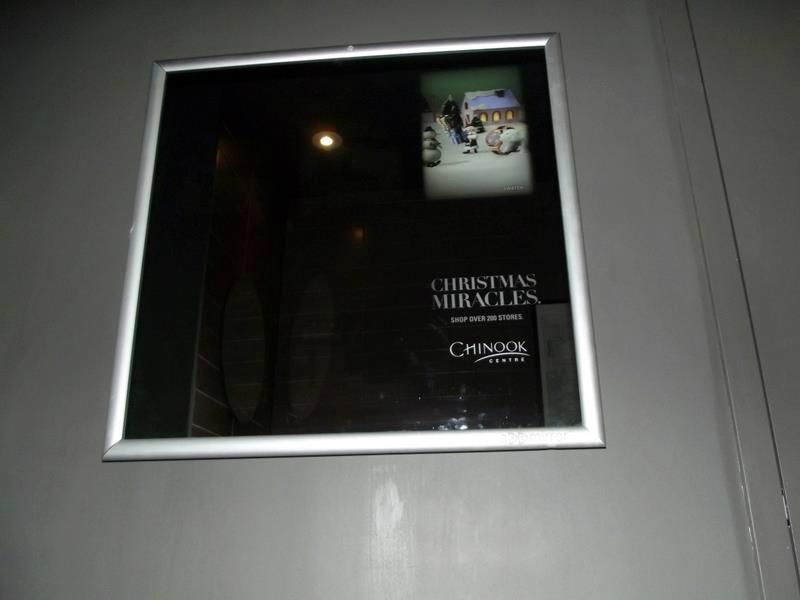 静态镜面广告 2